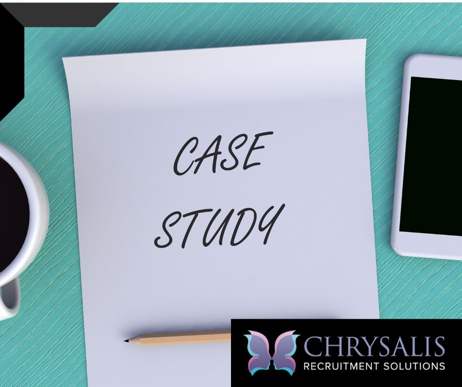 Case Study; Placing a Client Relationship Manager with a new client!