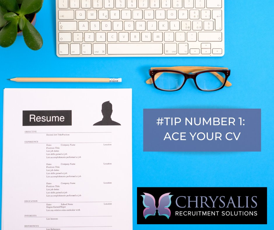 How To Ace Your CV